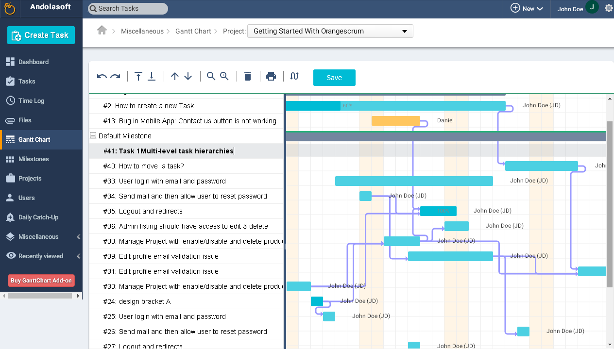 Effortless Project Schedule Management With Gantt Chart