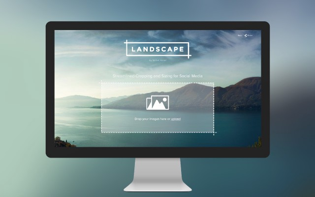 Social media images can be tough but Landscape provides the ability to quickly edit one image & auto crop for the perfect fit across all platforms | MAC5.ca