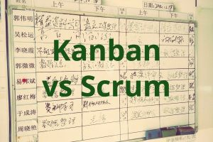 when to use kanban vs scrum