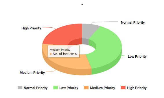 Project Issues - Medium Priority - KPIs for Project Manager