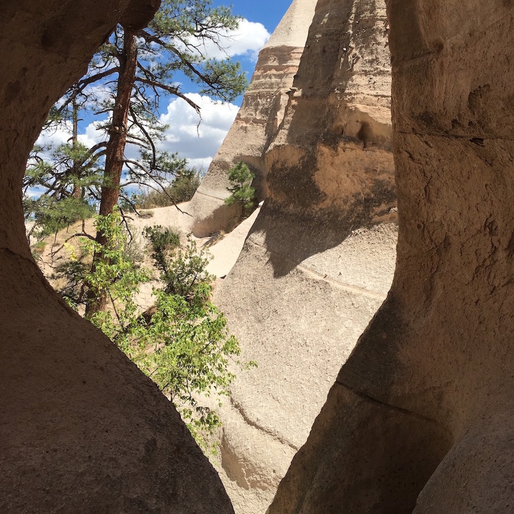 Window to the World at Tent Rock