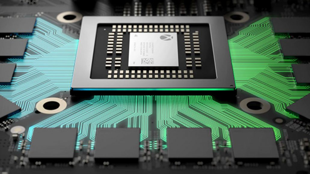 Microsoft's Project Scorpio Xbox One