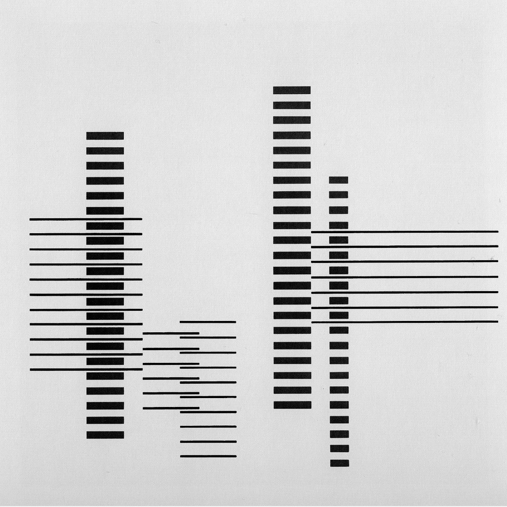 Rhythm by Josef Albers 1958