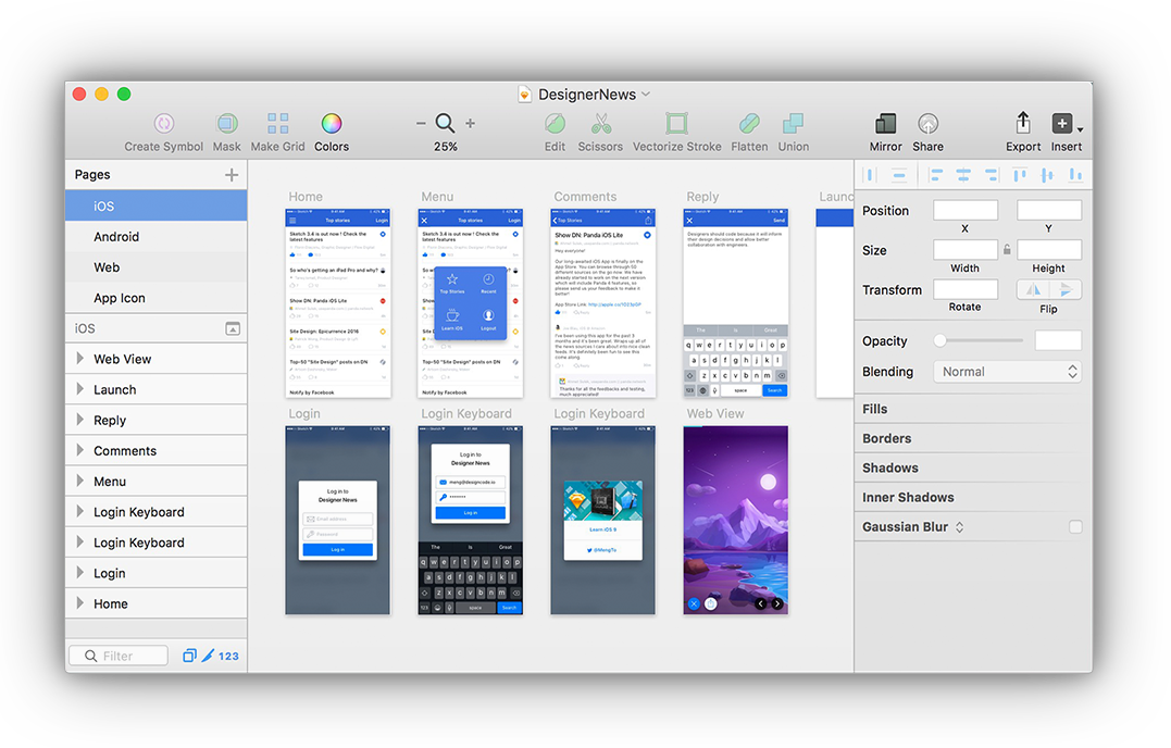 Top 22 prototyping tools for ui and ux designers 2018 for Program design tools