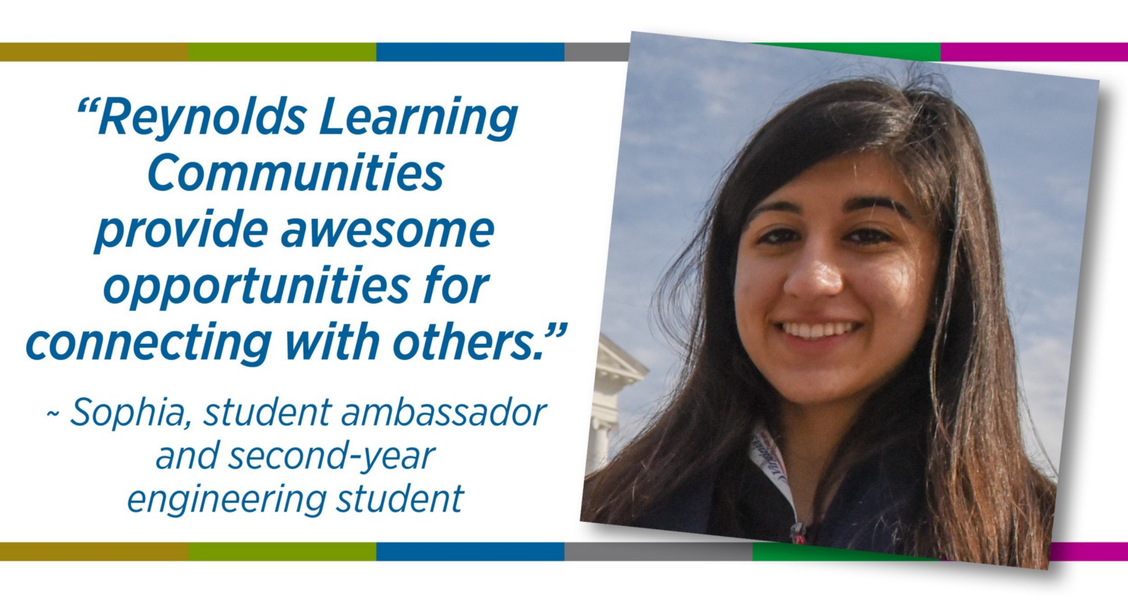Reynolds Learning Communities provide awesome opportunities for connecting with others.