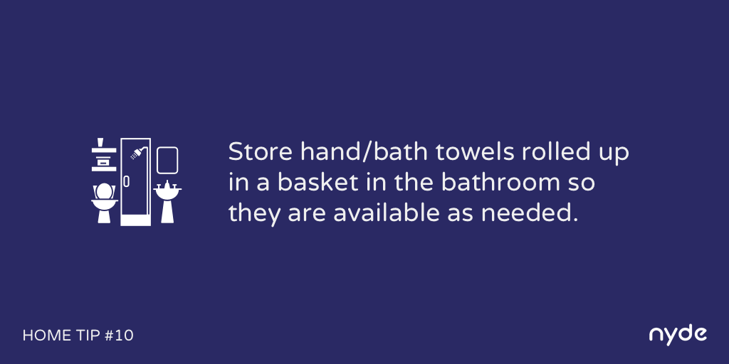 Home Tip #10