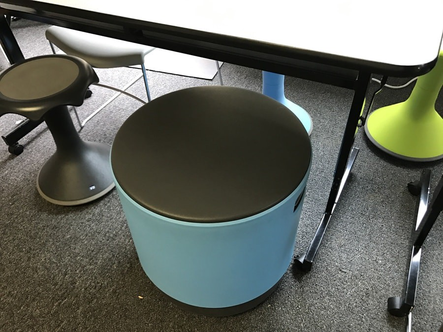 One room2learn user shared this buoy chair. The bottom of the chair is rounded giving students some freedom to move or sway yet still remain seated. & 5 Alternatives to the Fidget Spinner in Your Classroom