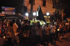 Holy Week procession in Maybunga. This is in Dr Sixto Avenue