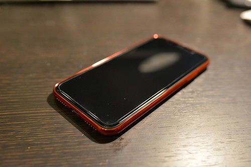 glass & case for iPhoneX