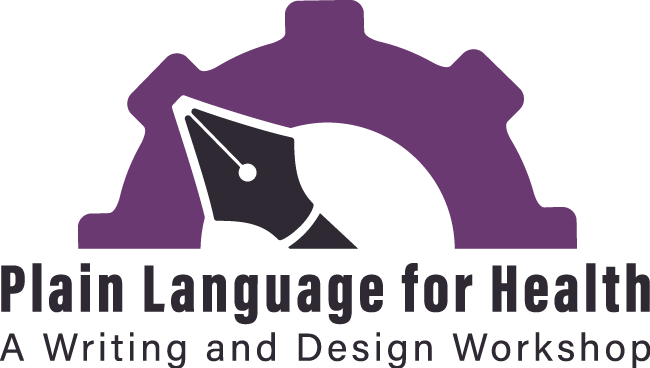 Plain Language for Health: A Writing and Design Workshop