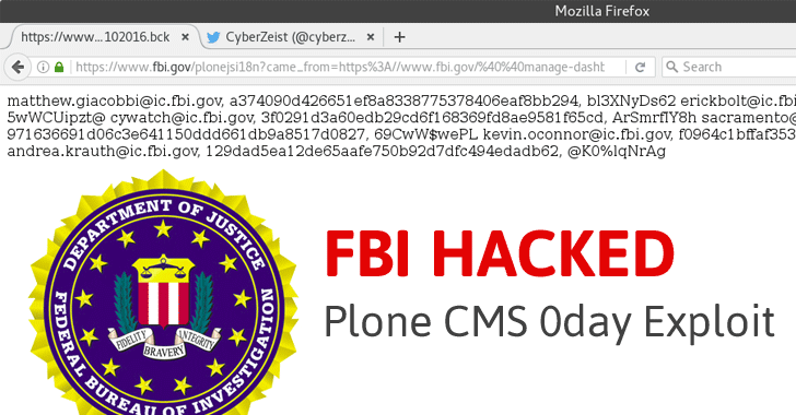 FBI Hacked, Agents Exposed