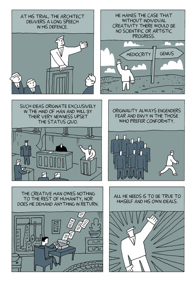 Ayn Rand Explained In A Comic Series Antiserious