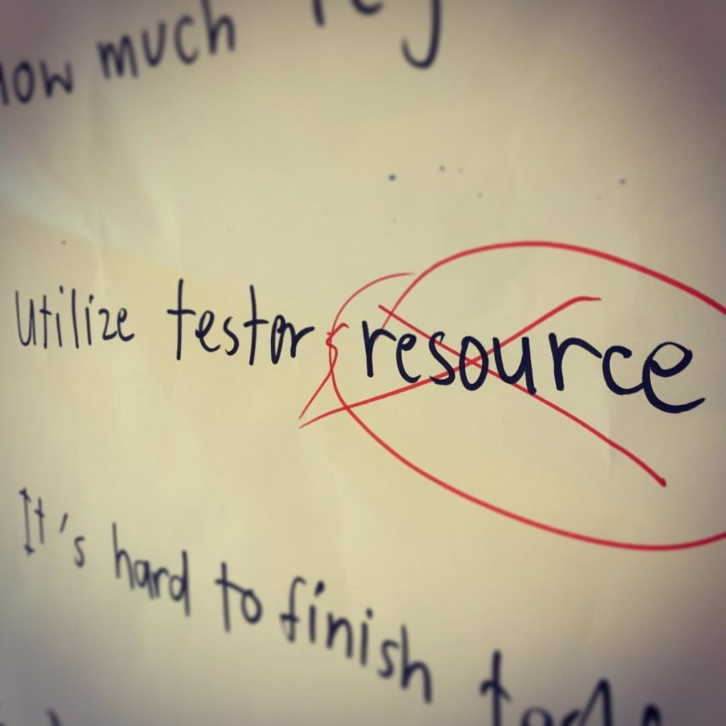 tester-is-human-not-resource