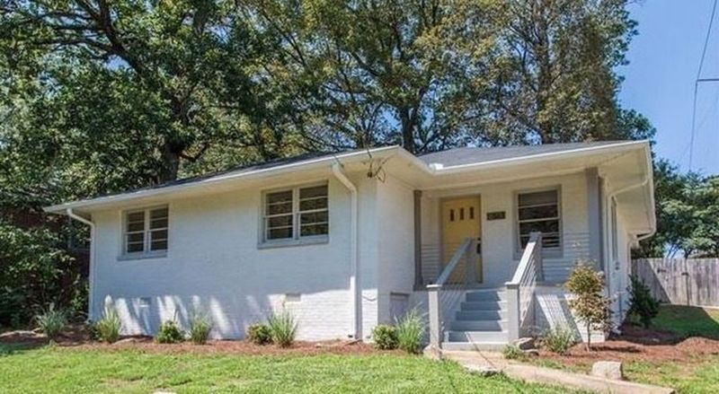 A rehab bungalow in East Atlanta Village.