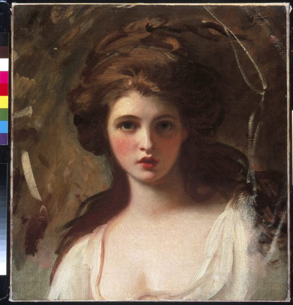 Emma Hart as Circe by George Romney c.1782