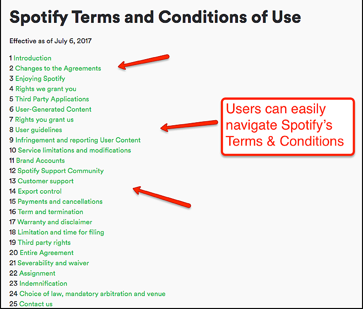 How User Friendly Is Your Terms Conditions Page Clutch Medium