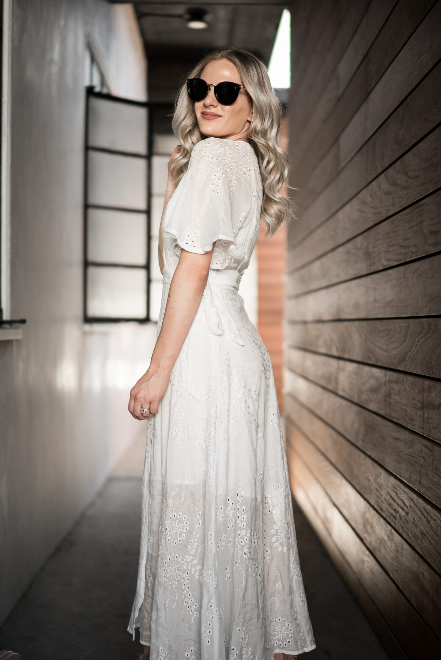 Cute White Dresses for Spring & Easter by popular Orange County fashion blogger Dress Me Blonde
