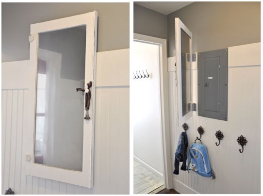 Hang A Mirror Door