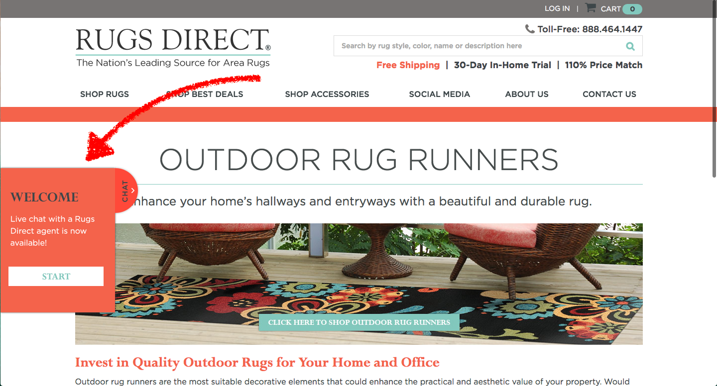 rugs direct chat