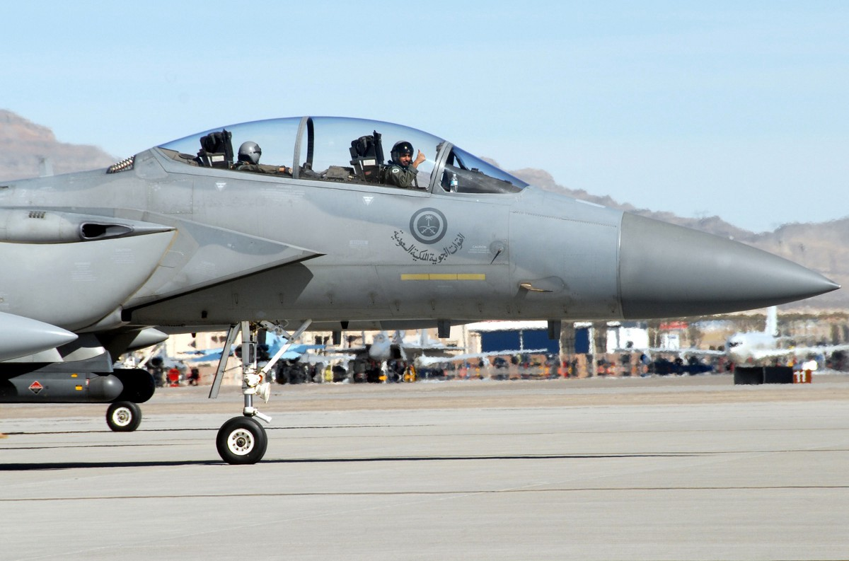 Another Saudi F-15S. Air Force Photo