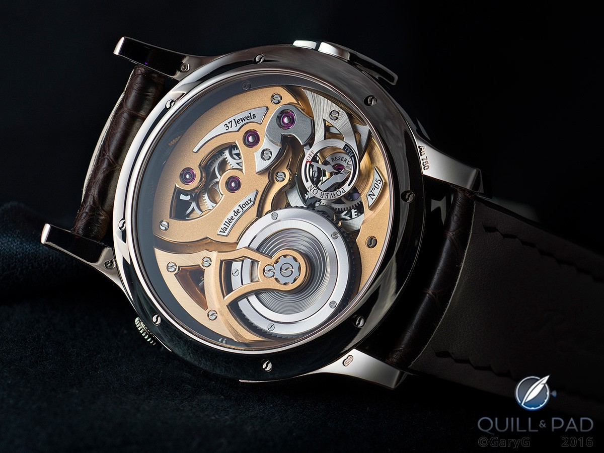 The author's Romain Gauthier Logical One post-service: can you spot the difference?