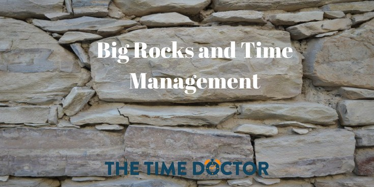 Big Rocks and Time Management