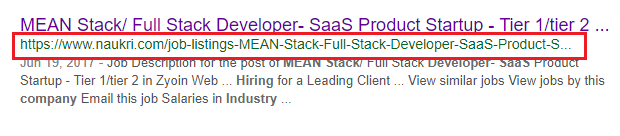 MEAN Stack/Full Stack Developer