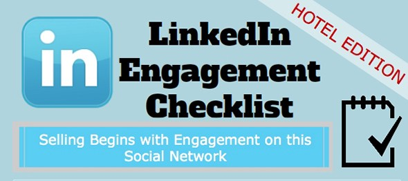 Infographic: Checklist For Effectively Engaging Your LinkedIn Network