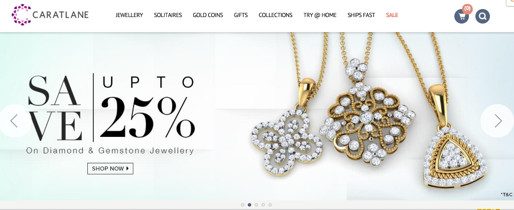 CaratLane, jewelry e-commerce player in India pushing the envelope