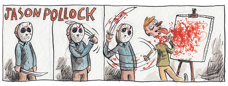 Odunacam: The Epic Hidden Comic Strips from Liniers