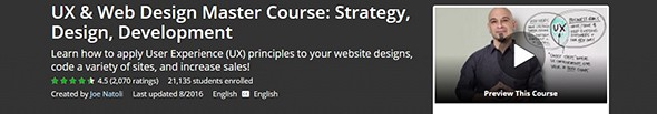 UX and Web Design Master Course