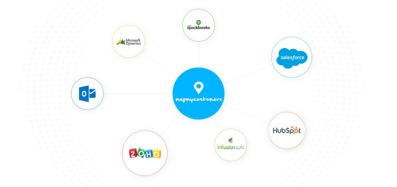 solutions like map my customers provide easy ways to get your travel data into crms like salesforce dynamics and zoho