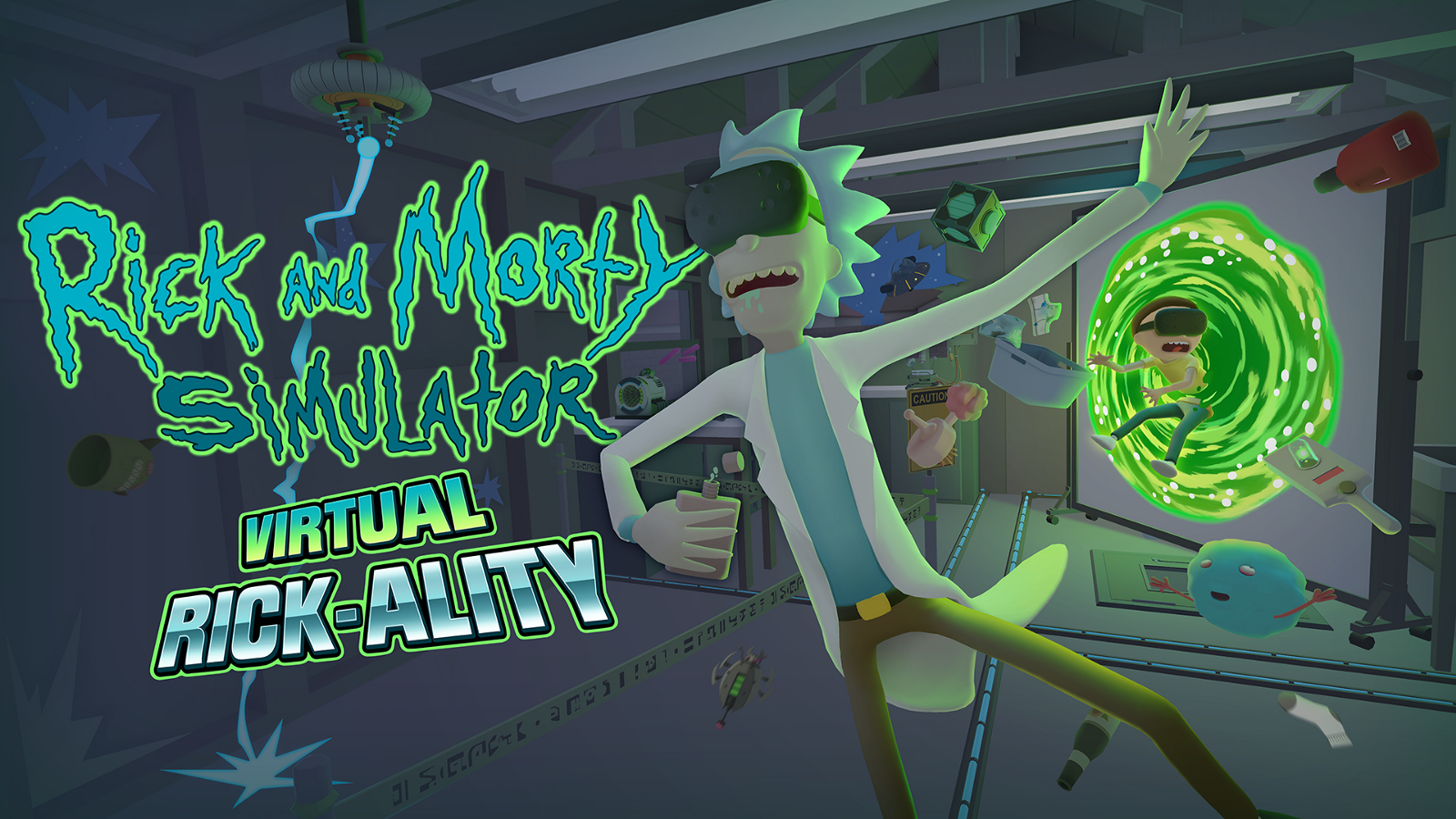 Rick And Morty VR Game Will Release On 4 20