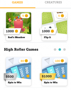 Long Game app games