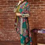 Khaadi embroidered cambric fall collection fashion 3