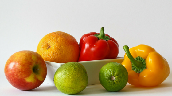 Skin care tips for women eat fruit and vegetables