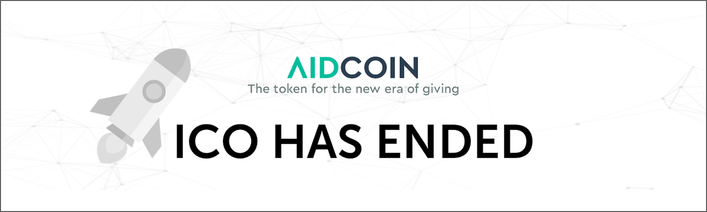 170f090a001ef The AidCoin team is super pleased with reaching the ICO hard cap of 14