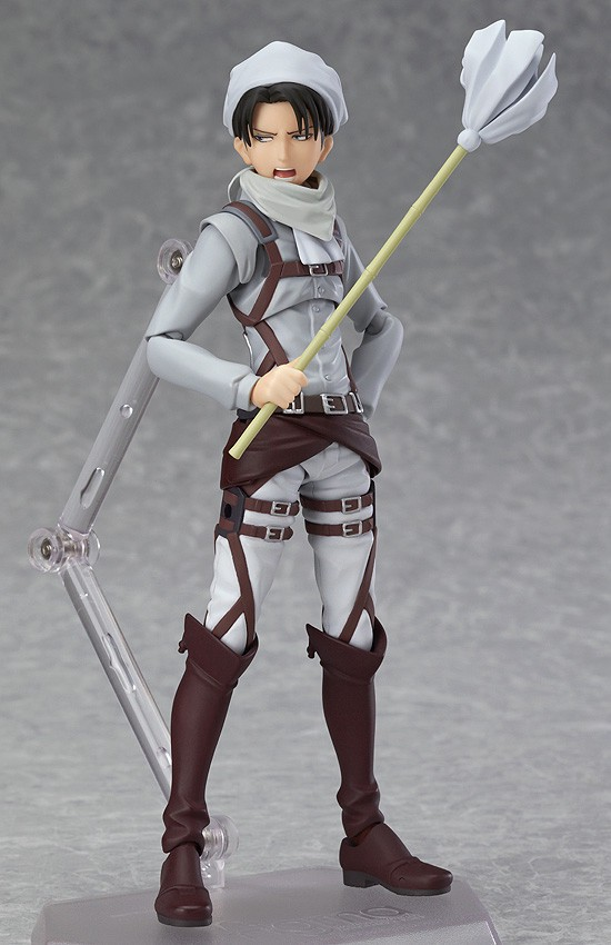 figma #EX-020 Levi Ackerman Cleaning ver. by Max Factory