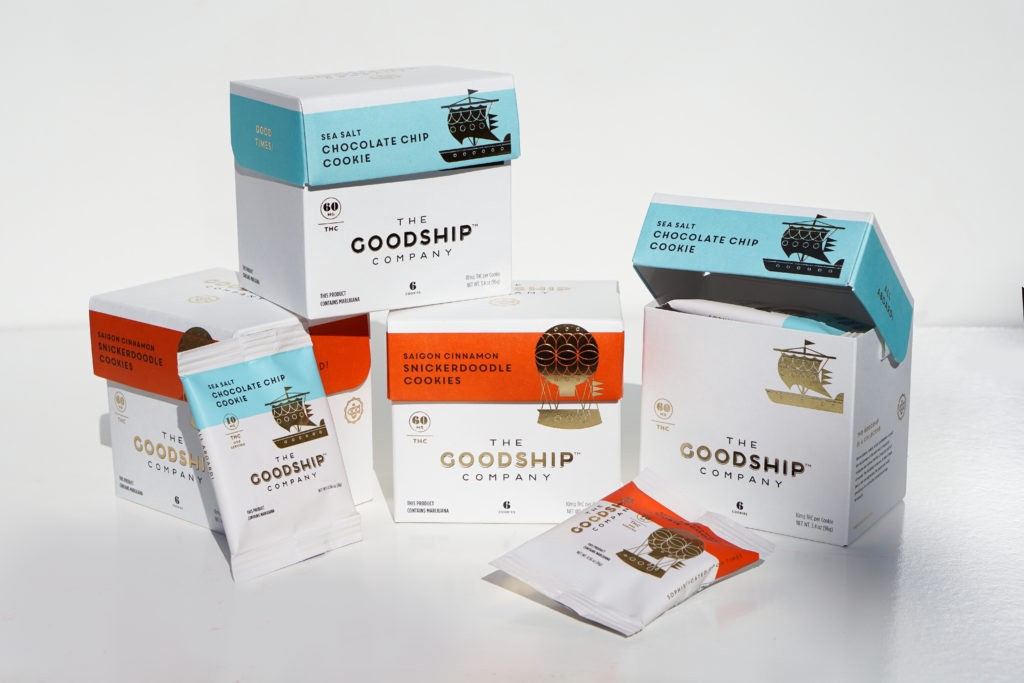 The Goodship Cookie Boxes