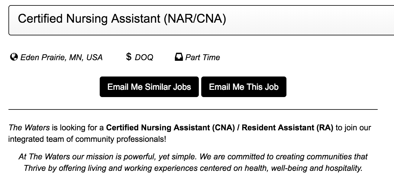 How To Recruit Applicants For Your Nurses Aide Opening