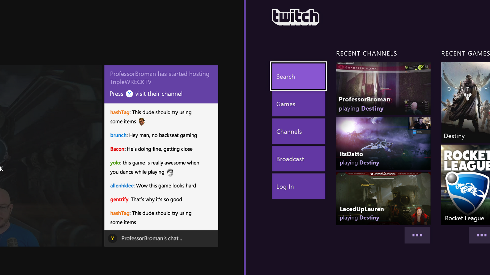 Shiny New Updates To Xbox One \u2013 Twitch Blog