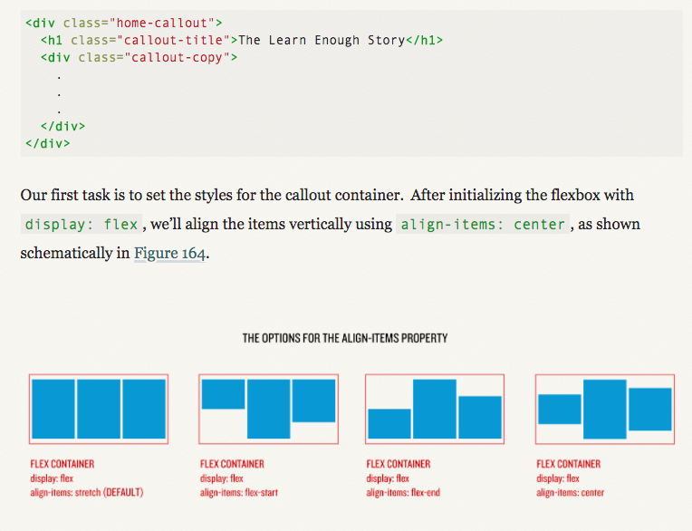 Learning about flexboxes in CSS