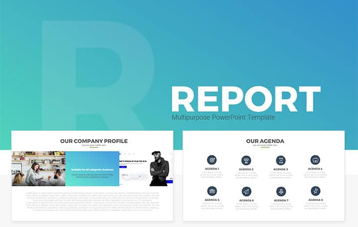 Free and premium powerpoint templates 56 pixels medium report multipurpose presentation powerpoint template with a creative design which can be used for all kind of business and project related you can even use toneelgroepblik Choice Image