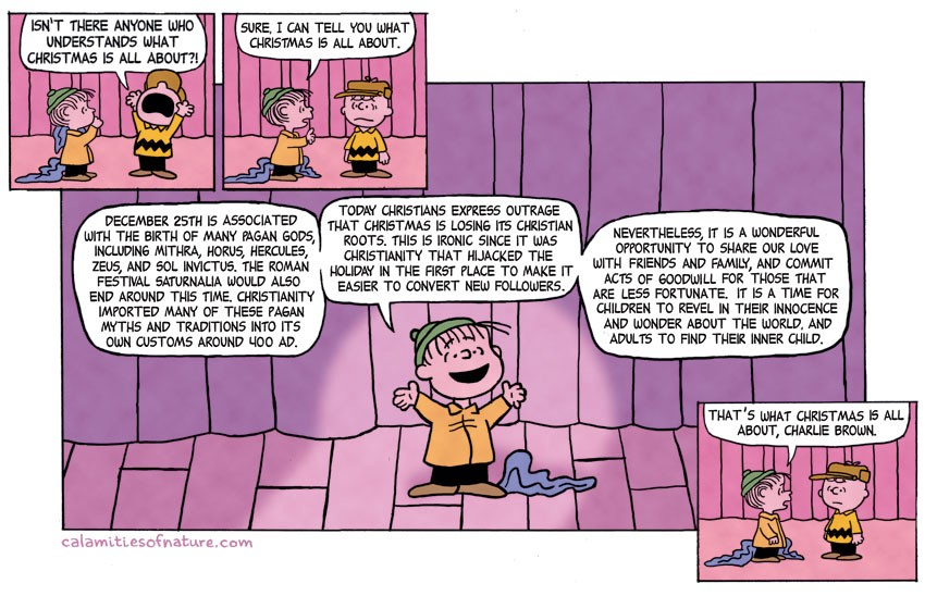 30 The True Meaning Of Christmas As Recited By Linus