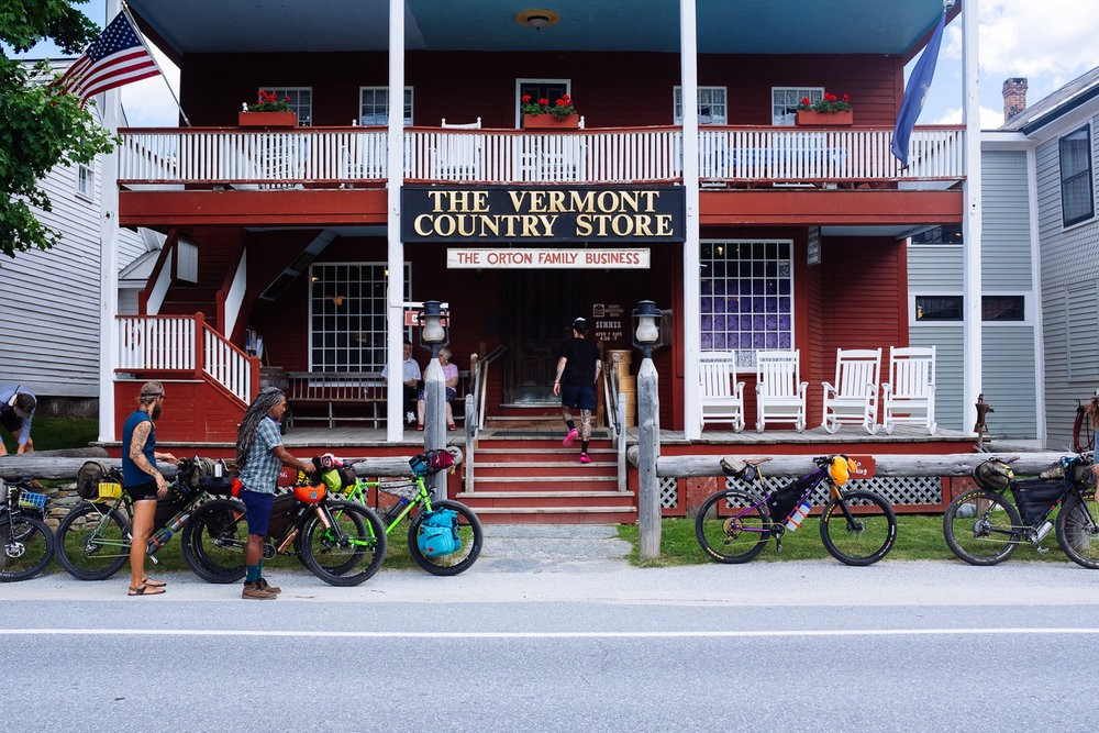 One of the many country stores in Vermont