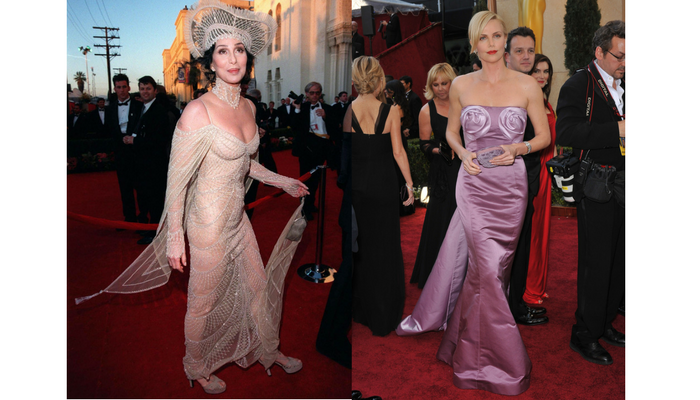 cher and charlize theron worst dressed oscars