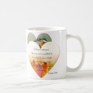 Autumn and Fall Inscribed Quote Mug
