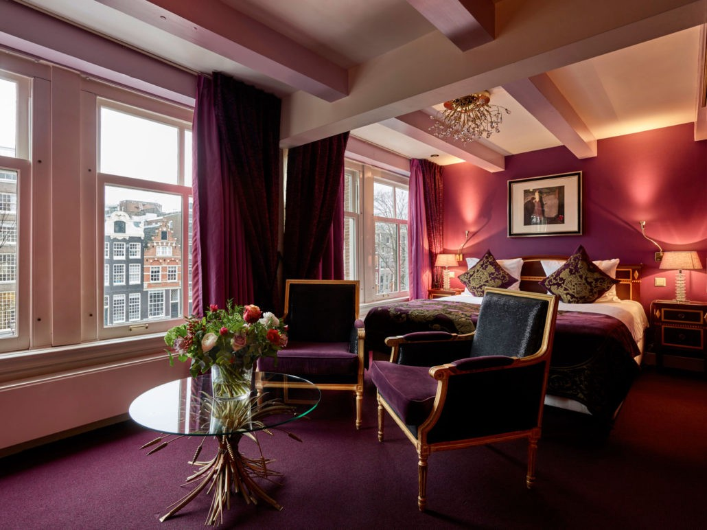 Hotel Interior Design Pschology of Color | Fohlio | Purple | Ambassade Hotel