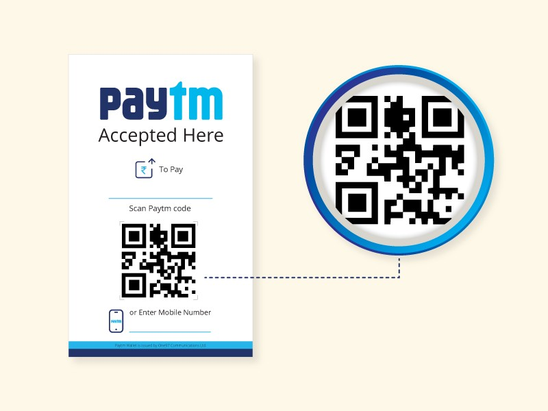 15 photos that showcase how india is going cashless with paytm paytm sellerqr code colourmoves