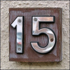 15 sign